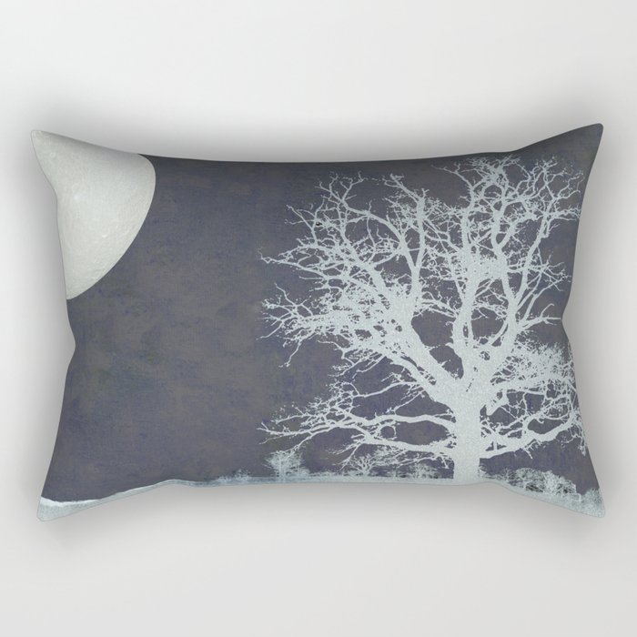 With that Moon Language Rectangular Pillow