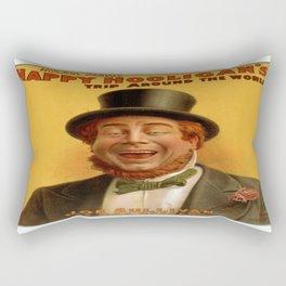 Vintage poster - Musical comedy Rectangular Pillow