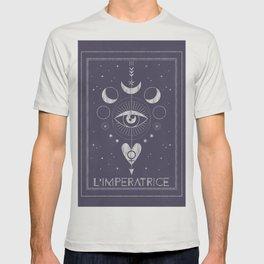 L'Imperatrice or L'Empress Tarot T-shirt
