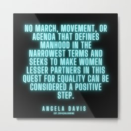 3|  Angela Davis | Angela Davis Quotes |200814 Metal Print