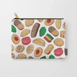 Italian Cookie Pattern Carry-All Pouch