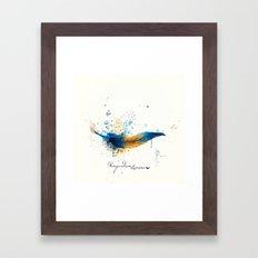 Wingardium Leviosa Framed Art Print