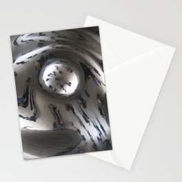 Chicago Bean Swirl Stationery Cards
