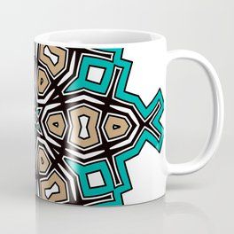 abstract maya mandala Coffee Mug