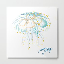 moonjellyfish Metal Print