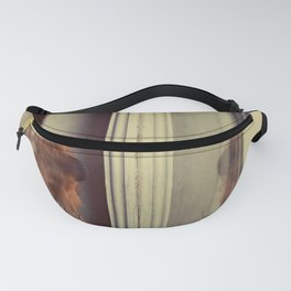 Yorkie Daydreaming Fanny Pack