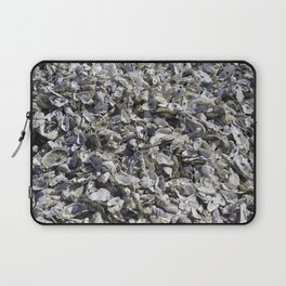 Shucked Oyster Shells Laptop Sleeve