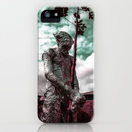 Frist Touch of Earth iPhone Case