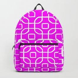 Grille No. 4 -- Violet Backpack