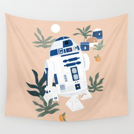 """""""Keep Calm and Droid On"""" by Maggie Stephenson Wall Tapestry"""