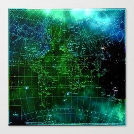 earth map Canvas Print
