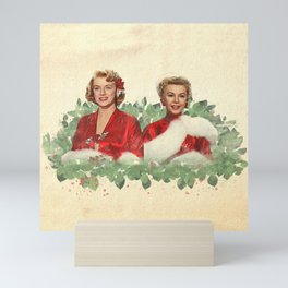 Sisters - A Merry White Christmas Mini Art Print