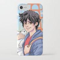 daunt iPhone & iPod Cases featuring Big Hero by Daunt
