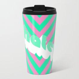 Whatever (stripes) Travel Mug