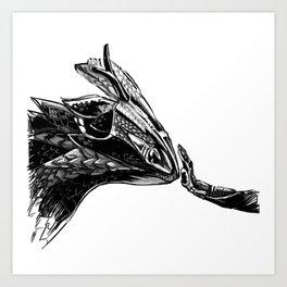 daytona dragon Art Print