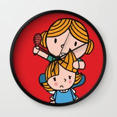 mom & daughter Wall Clock