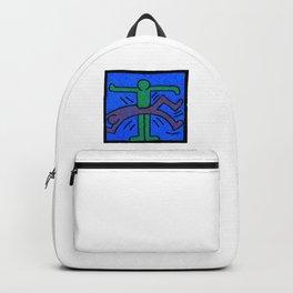 Keith Haring Humans Backpack