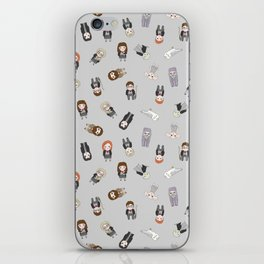 Magic school witches and wizards iPhone Skin