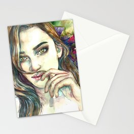 Look Don't Touch Stationery Cards