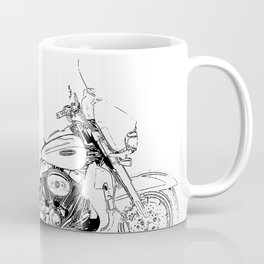 Motorcycle Ultra Classic Electra Glide, street bike, gift for men Coffee Mug