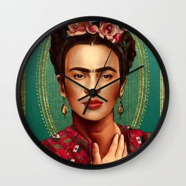 Frida Beauty Wall Clock