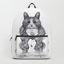 Cat girl Backpack