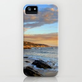 Laguna Beach: Rockpile Beach iPhone Case