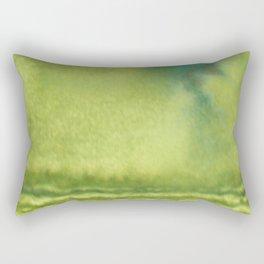 Mossy Cliffs Rectangular Pillow