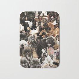 French Bulldogs Bath Mat
