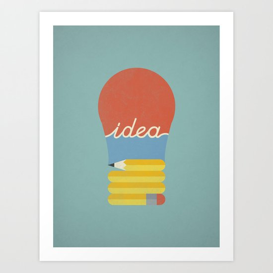 I've Got An Idea Art Print
