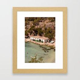 Cala Pi Framed Art Print