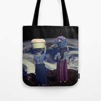 planet Tote Bags featuring Planet by Cs025