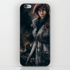 Lightning from Final Fantasy 13 Painting iPhone & iPod Skin