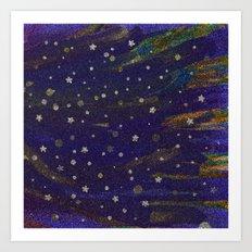 Little Stars Art Print