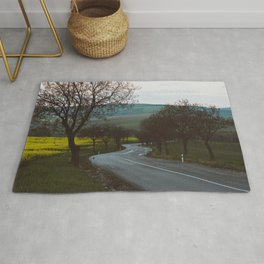 Along a rural road - Landscape and Nature Photography Rug