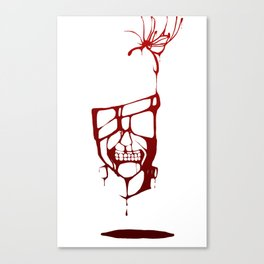 Blood of Ghouls Canvas Print