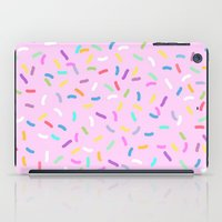 donut iPad Cases featuring Donut  by Alexandra Aguilar