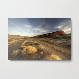 Westbound Freight  Metal Print