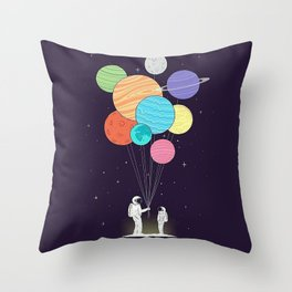 Space Gift Throw Pillow