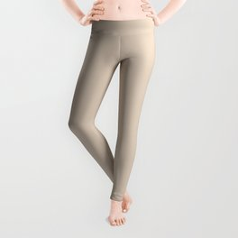 Monochrome collection Beige Leggings