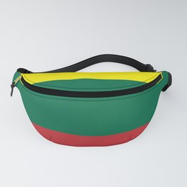 Lithuania Flag (Yello, Green, Red) Fanny Pack