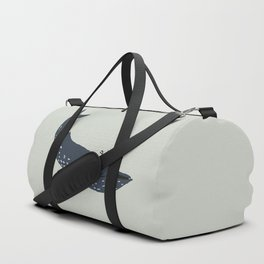 The whale and the diver Duffle Bag