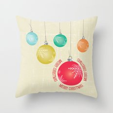 Christmas decorations Throw Pillow