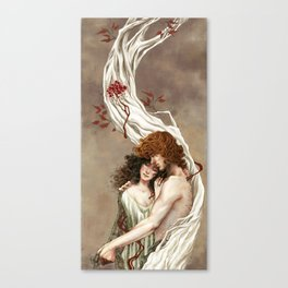 Blood&Bone Canvas Print