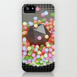 Graphic Light Balls iPhone Case