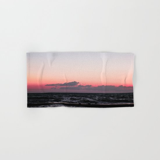 Ocean #sunset Hand & Bath Towel