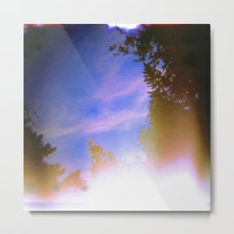 Leaking Light (One) Metal Print
