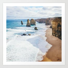 12 Apostles Great Ocean Road Australia Fine Art Print  • Travel Photography • Wall Art Art Print