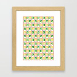 Kueh: Puteri and Seri Framed Art Print