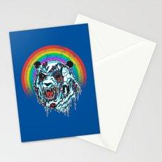 Zombie Panda Stationery Cards